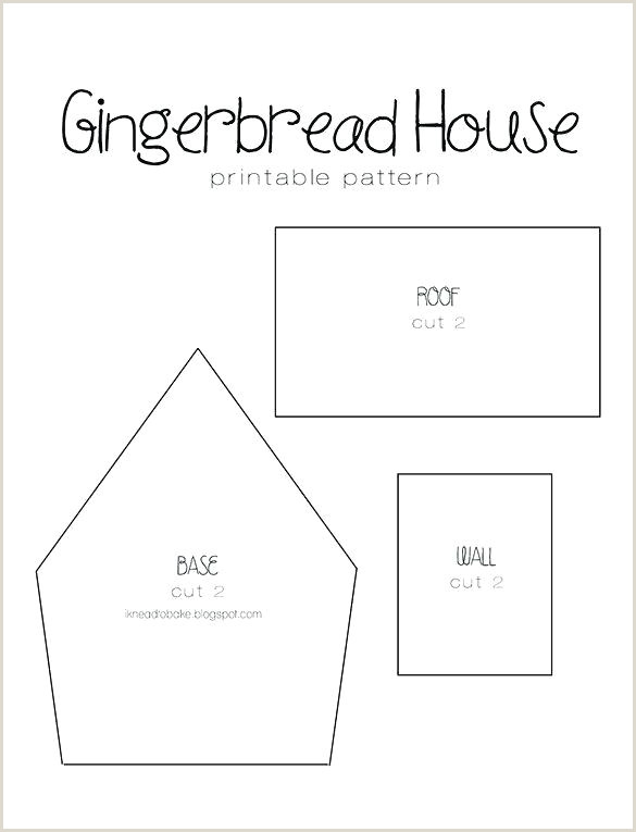 gingerbread castle template free