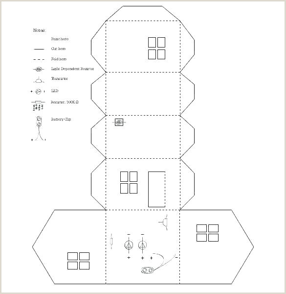 House Template To Print Gingerbread Mansion Template