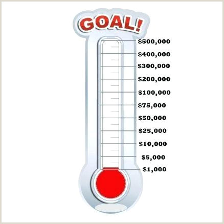 thermometer for fundraising template – copyofthebeautyfo