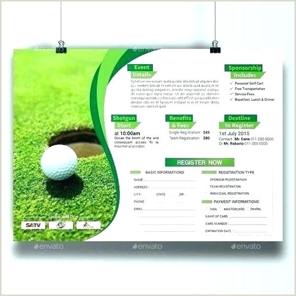 Golf Tournament Application Template Course Registration