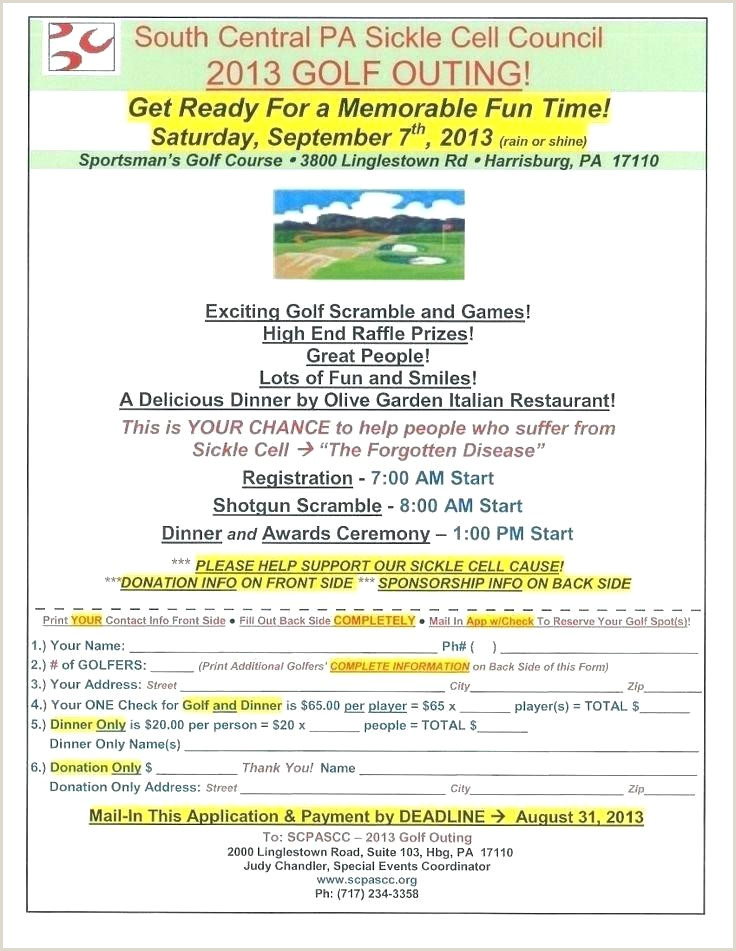 golf tournament application template
