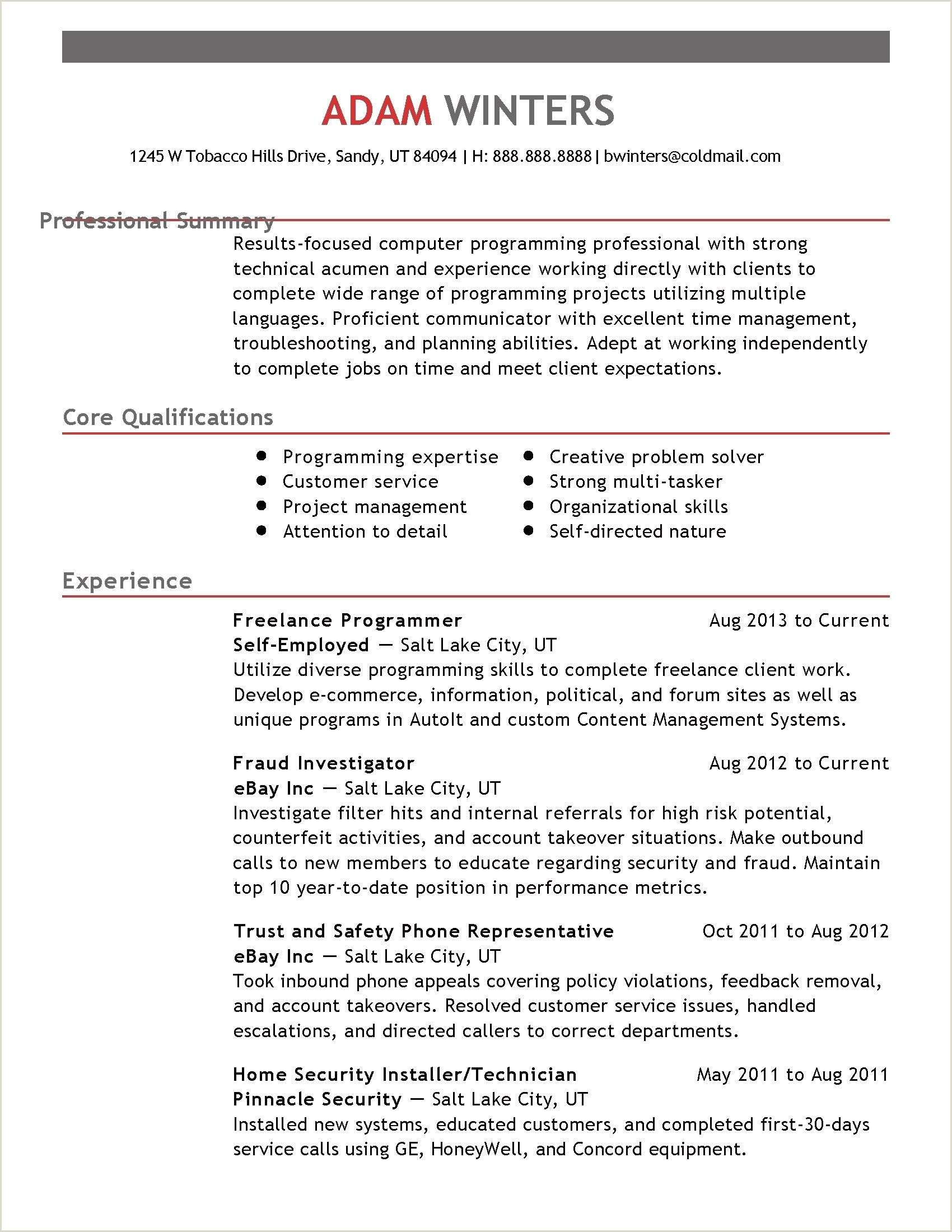 Good Professional Cv format Hairstyles Professional Resume Examples Wonderful Creative