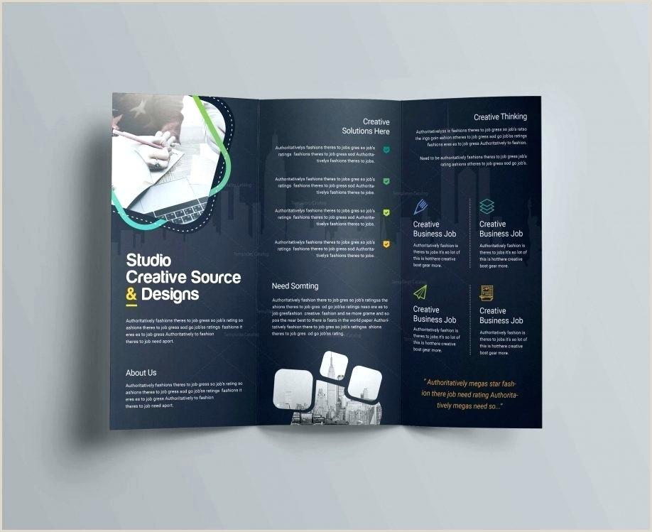 Google Doc Brochure Template Luxury Brochure Template