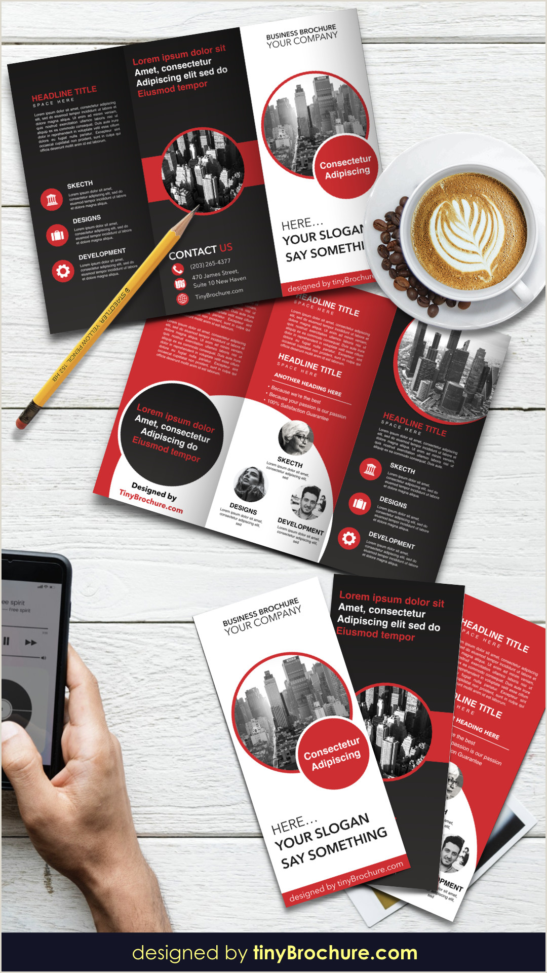 Trifold Brochure Template For Google Docs
