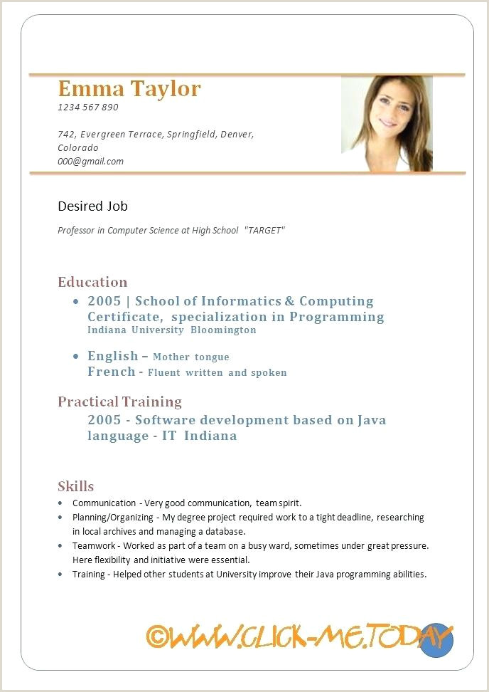 Resume Template Samples In Word Inspirational Amazing