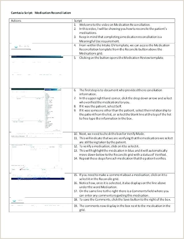 prescription script template
