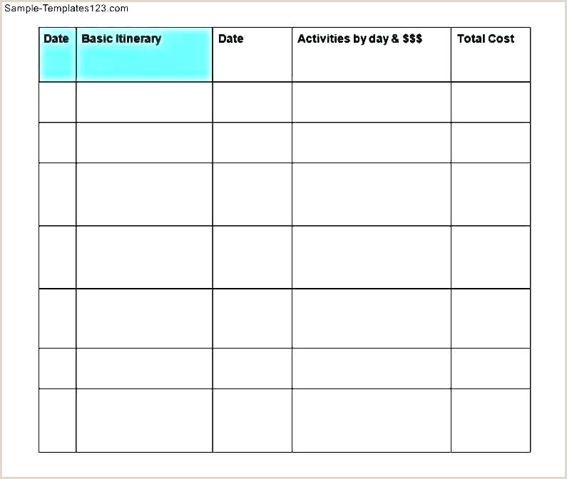 Google Sheets Travel Itinerary Template Road Trip Planner Template Printable Planner Template Best