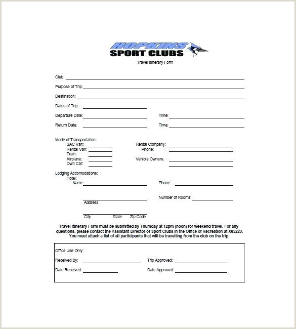 Google Sheets Travel Itinerary Template Travel Itinerary Template for Schengen Visa Business Word