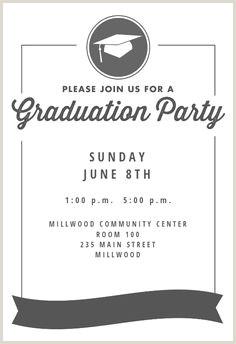 30 Best graduation invitation templates images