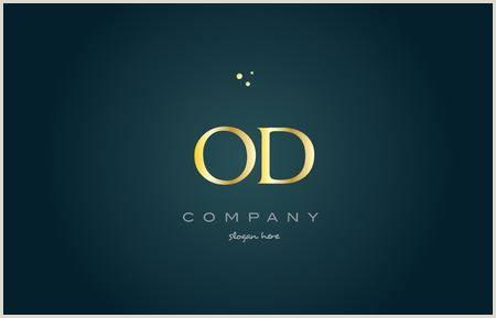 Od O D Gold Golden Luxury Product Metal Metallic Alphabet