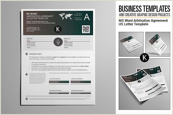 MS Word Arbitration Agreement USL by Keboto on