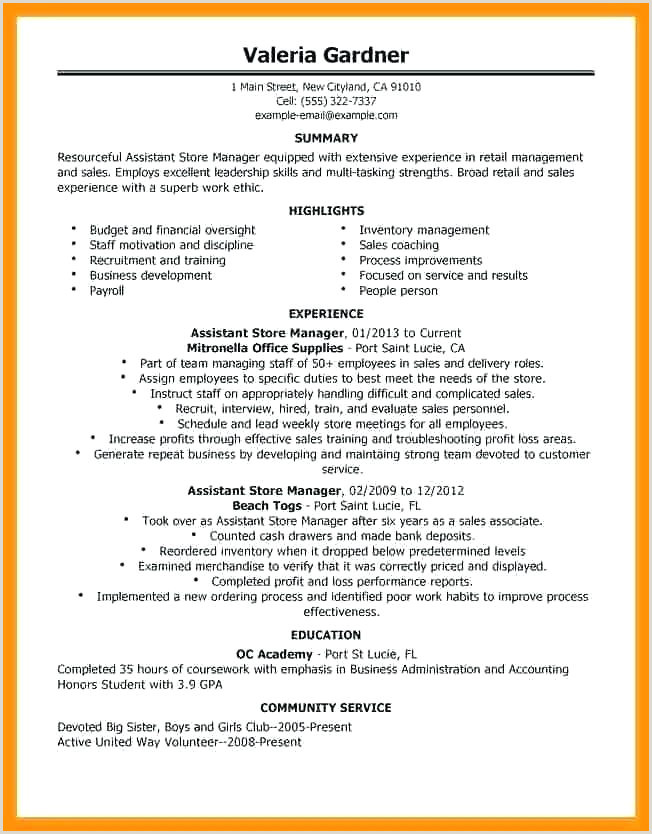 Grocery Store Manager Resume Grocery Store Resume Example – Newskeyfo
