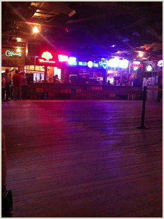 Empty dance floor prior to the concert Picture of Gruene
