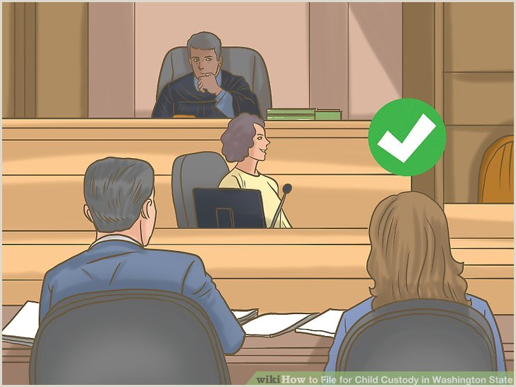 Guardianship Letter for School 3 Ways to File for Child Custody In Washington State Wikihow