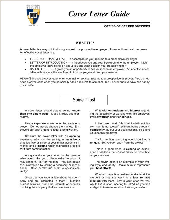Resume Summary Vs Cover Letter Inspirational Graduate School