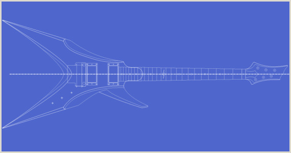 Guitar Templates Archive