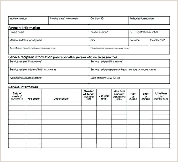 Billing Invoice Template Gym Samples Templates Excel Free