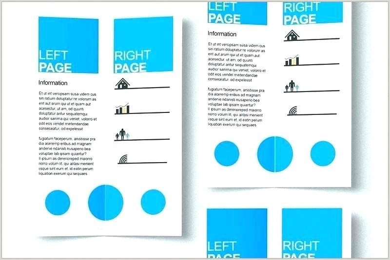 single page brochure template