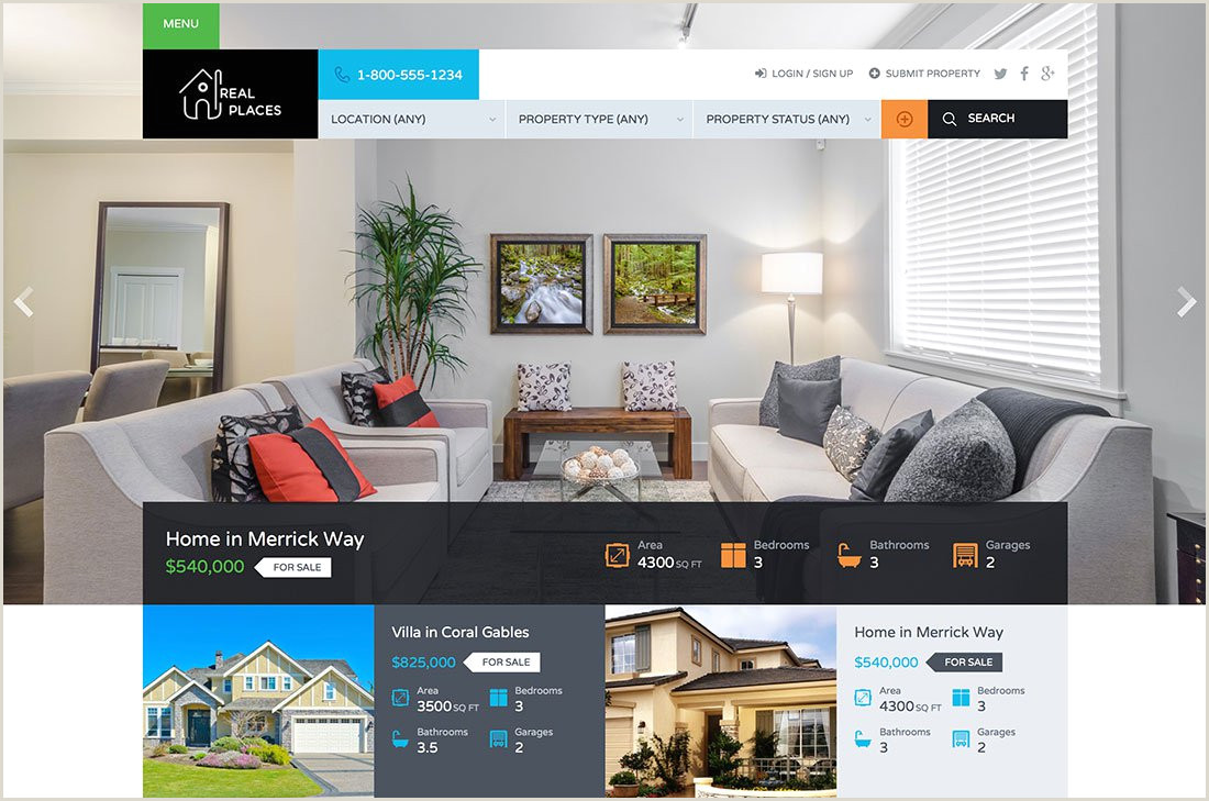 Headshot Templates Free Download 37 Real Estate Wordpress themes for Agents & Realtors 2019