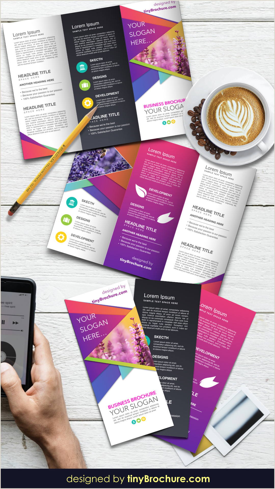 Three Fold Brochure Template Google Docs