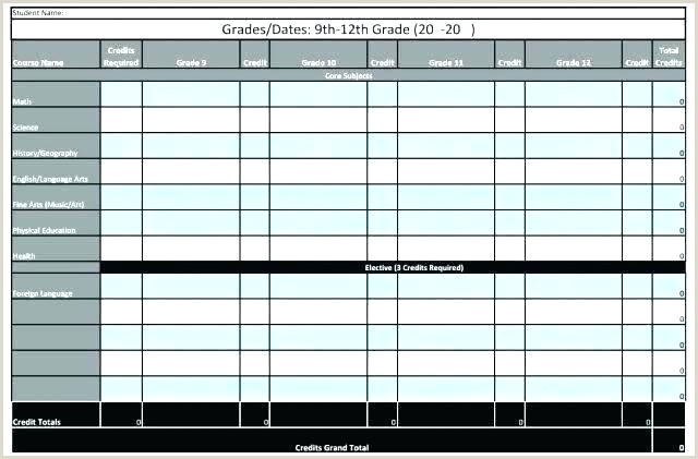 High School Master Schedule Template Excel Annual Plan Template