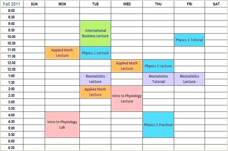 school schedule template – gotostudyfo