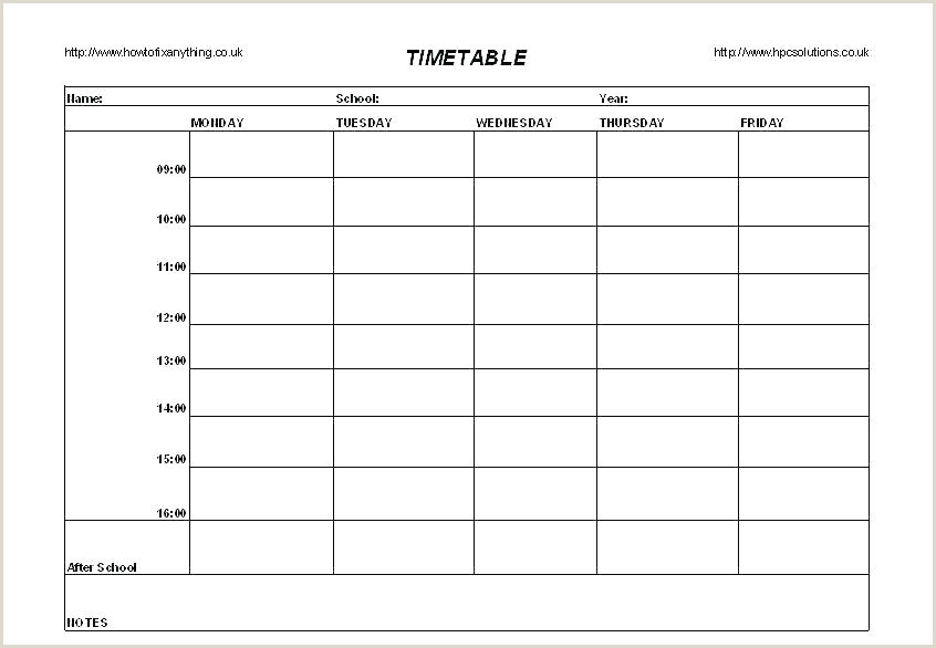 High School Master Schedule Template Excel School Timetable Template Excel – Enjoyathome