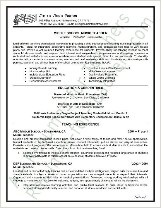 Fresh Secondary School Teacher Resume