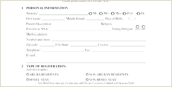 Hoa Proxy form Template Voter Registration Card Template form New 2 Third Party