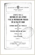 Hoja De Vida Estilo Minerva Apuntes Para La Historia De Las Letras Y De La