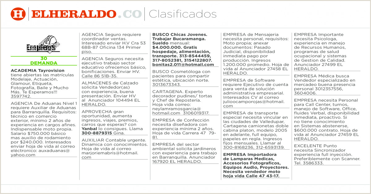 Hoja De Vida forma Minerva 1003 Clasificados 7 De Mayo [pdf Document]