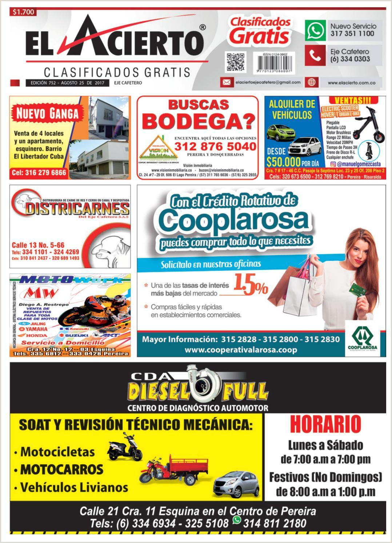 Hoja De Vida formato Minerva 10-03 Pereira 752 25 De Agosto 2017 by El Acierto issuu