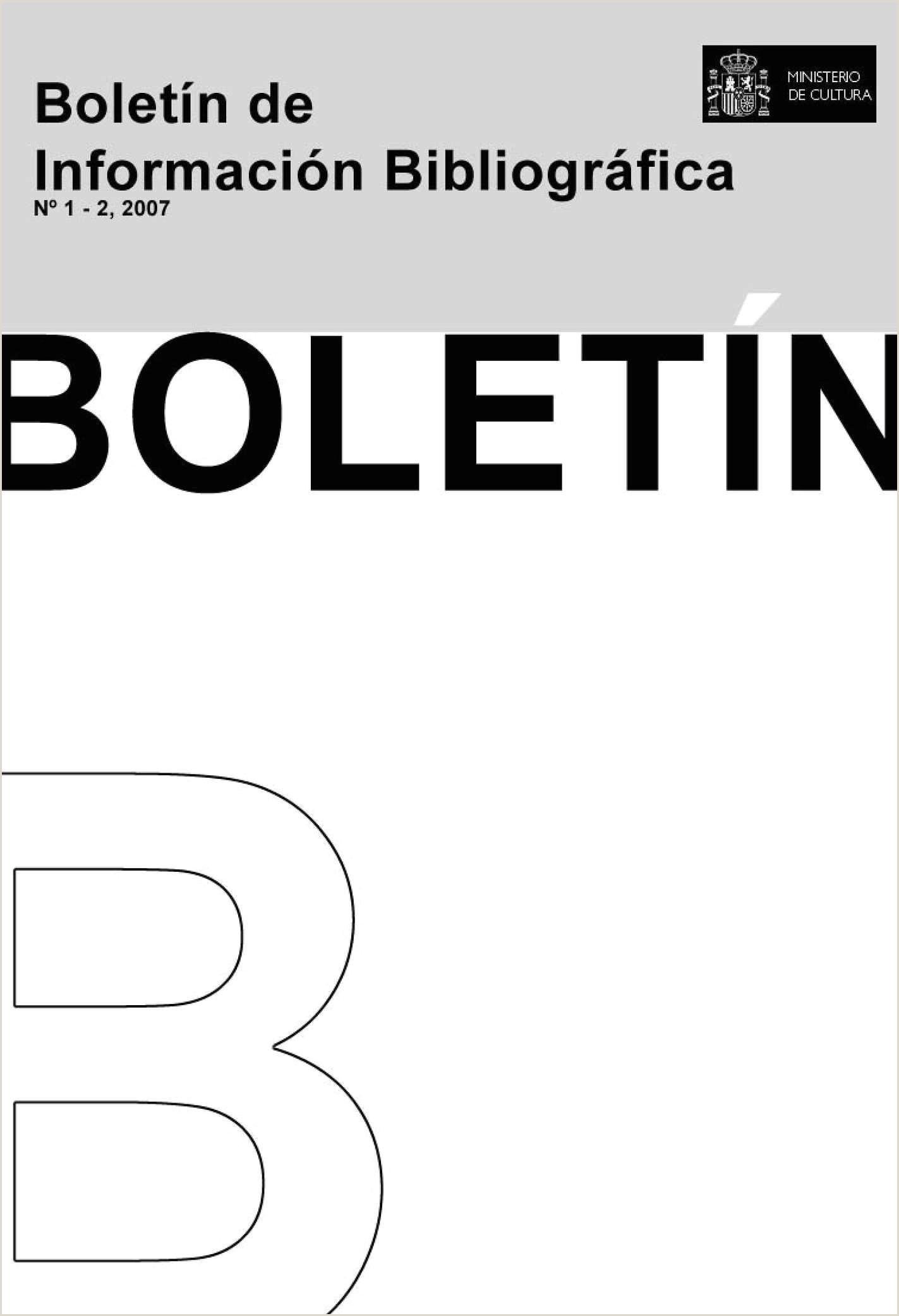 Calaméo Boletn de Informaci³n Bibliográfica de Archivos