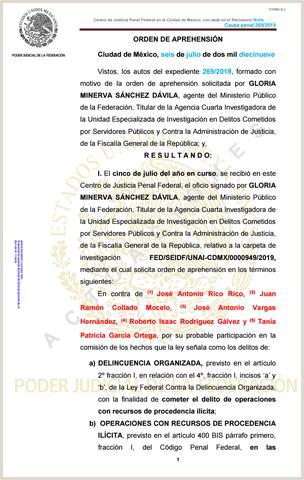 Hoja De Vida formato Minerva Sencilla orden De Aprehensi³n Juan Collado by Ejecentral issuu
