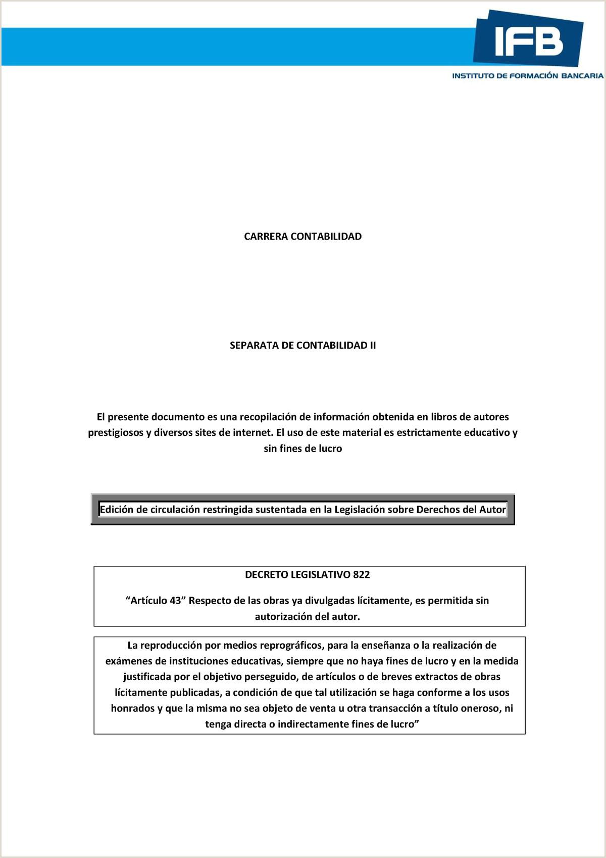 Separata Conta II 2011 2 StuDocu