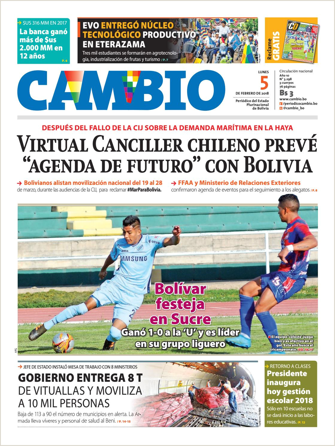Hoja De Vida formato Unico Bolivia Edicion 5 02 18 by Cambio Peri³dico Del Estado