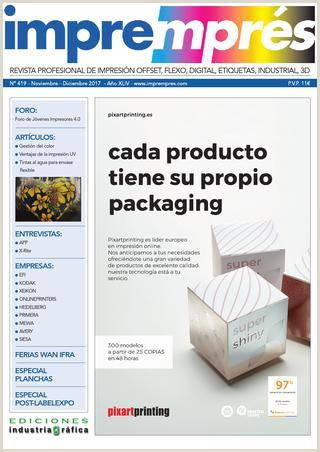 Impremprés 419 Noviembre Diciembre 2017 by Ediciones