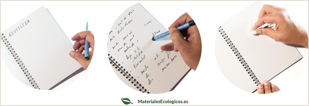 Cuaderno reutilizable ecol³gico InfiniteBook con hojas de