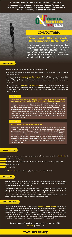 Observatorio de Discriminaci³n Racial ODR