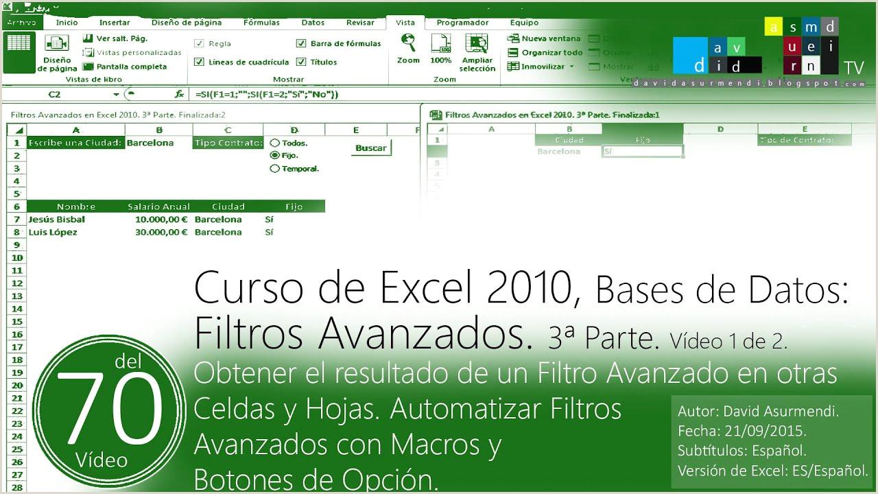 Hoja De Vida formato Unico Excel 2015