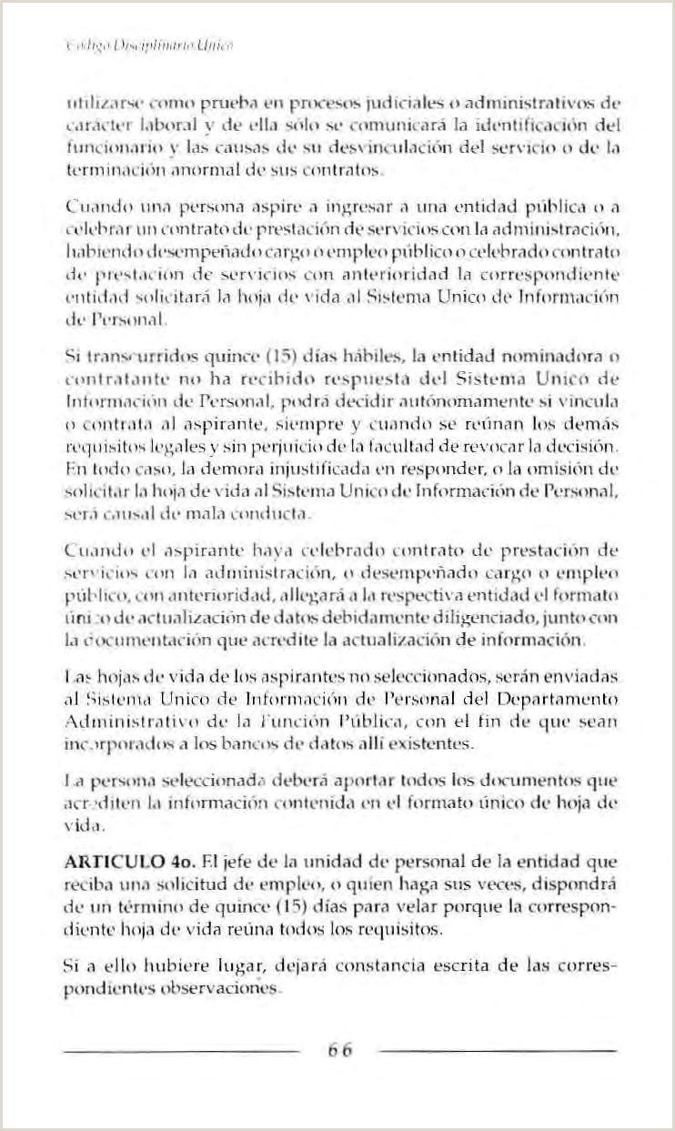 CODIGO DISCIPLINARIO UNICO PDF