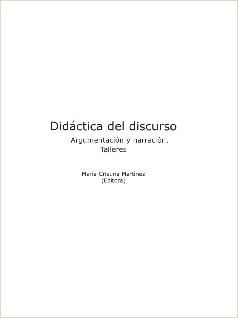 Didactica Del Discurso