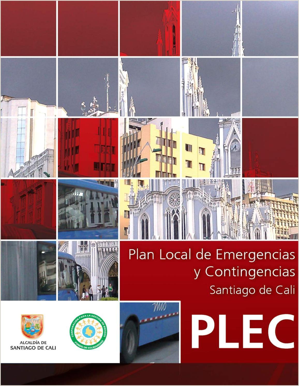 Plan Local de Emergencias y Contigencias Santiago de Cali by