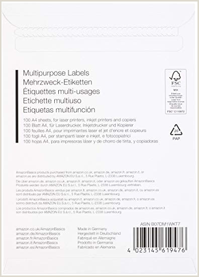 Hoja De Vida formato Unico Para Editar Amazonbasics Etiquetas De Direcci³n Multiusos 48 5mm X