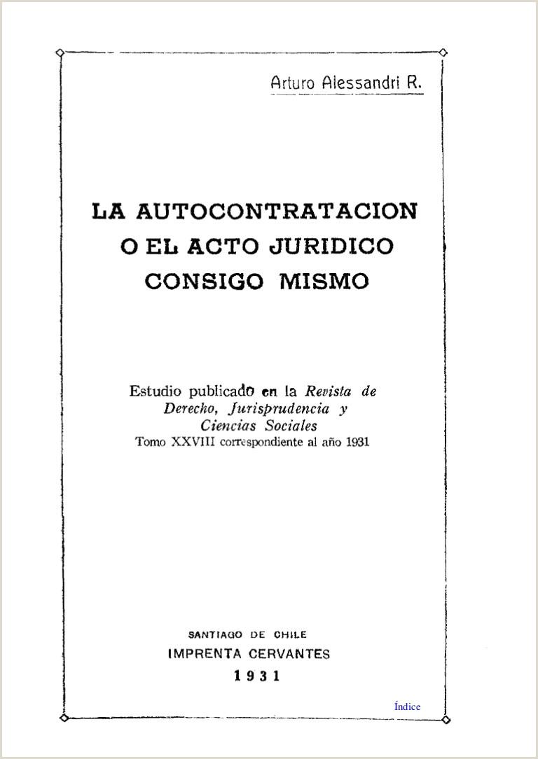 Hoja De Vida formato Unico Para Imprimir Xxx Alessandri Rodriguez Arturo X La Autocontratacion O