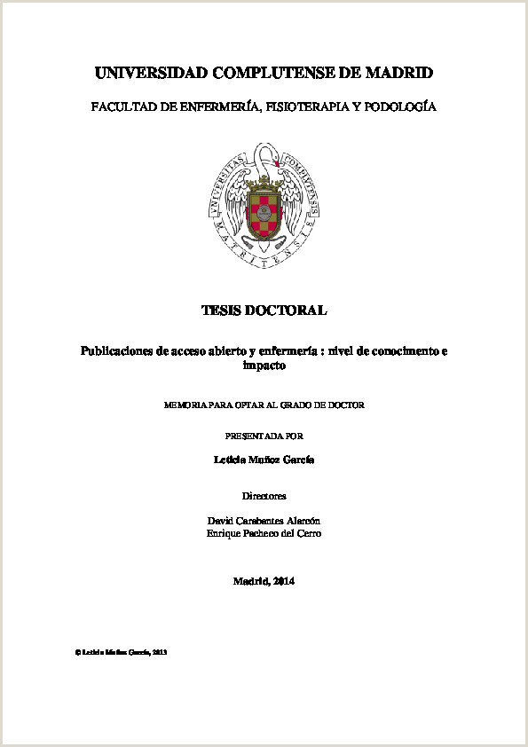 PDF Publicaciones de acceso abierto y enfermera nivel de
