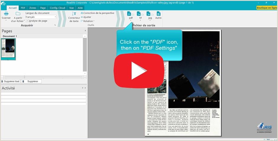 Readiris 17 software de conversi³n y edici³n de PDF