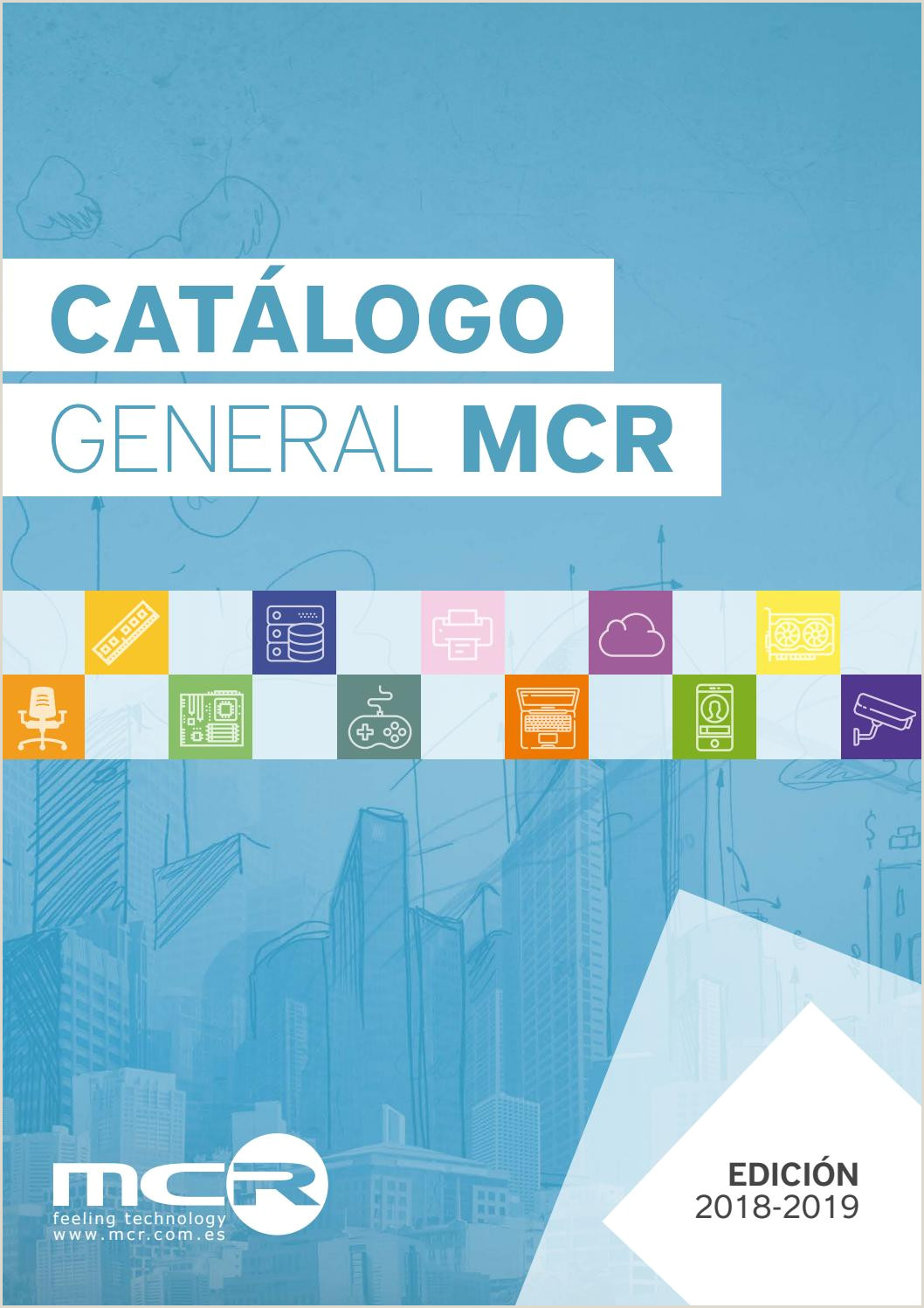 Catálogo General MCR 2018 2019 by MCR infoelectronic issuu