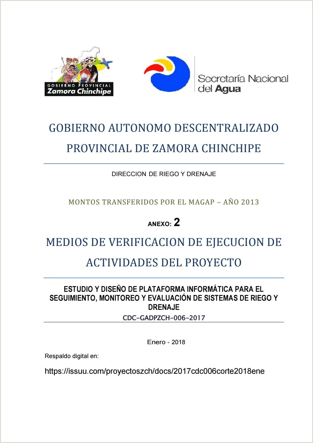 Cdc gadpzch 005 2017 by UNIDAD DE PROYECTOS GPZCH issuu