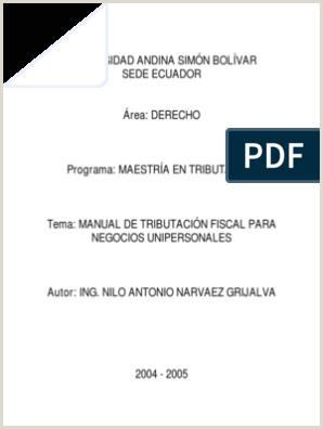 Hoja De Vida formato Unico Y Declaracion Juramentada De Bienes Y Rentas T417 Mt Narváez Manual De Tributación Fiscal Para